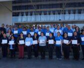 Personal de servicio finaliza Inducción en Prevención de Riesgos