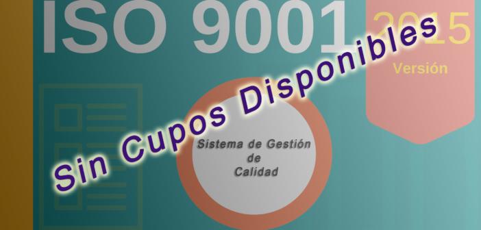 Curso:  ISO 9001:2015 Sistema de Gestión de la Calidad. Estudio de requisitos